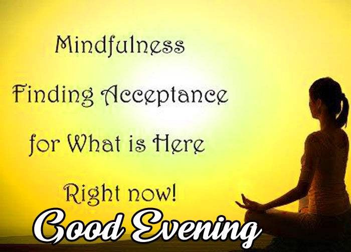 Good Evening girl yoga quotes images hd