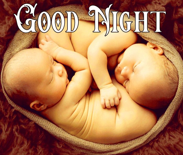 Good Night Cute Baby Sleeping images for facebook free download
