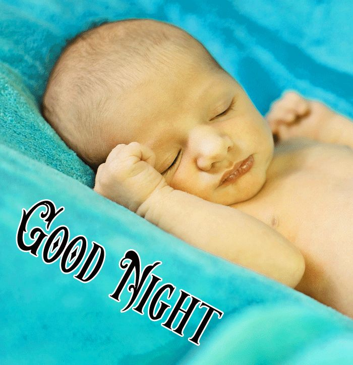 Good Night Cute Baby Sleeping pics for whatsapp hd download