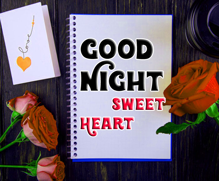 Good Night Sweet Heart wishes images hd download