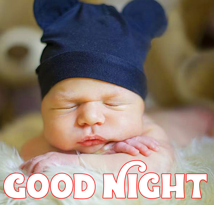 Good Night baby sleeping images hd