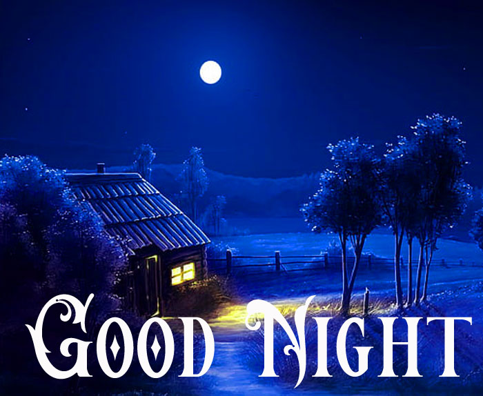 Good Night blue hourse images hd download