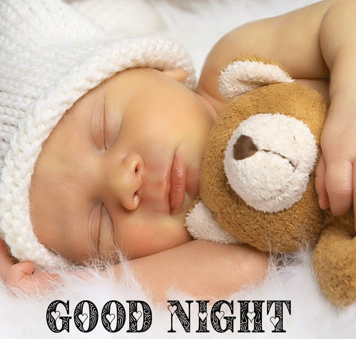 Good Night cute tittle Baby Sleeping photo hd