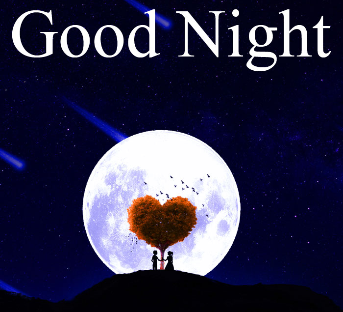 Good Night moon love images hd download