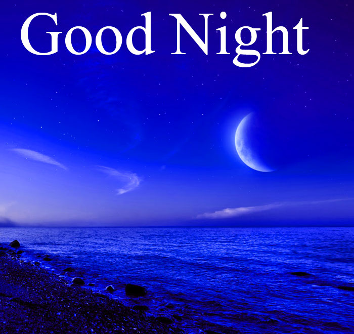 Good Night nature and blue background images hd download