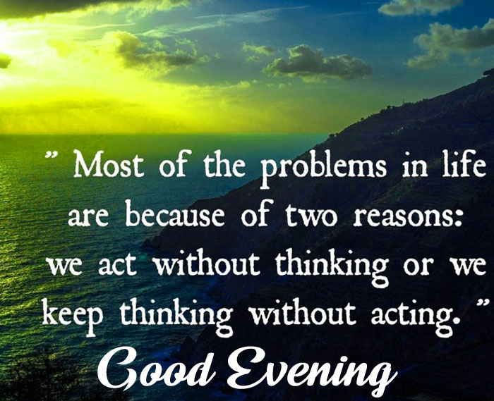best quotes Good Evening images hd