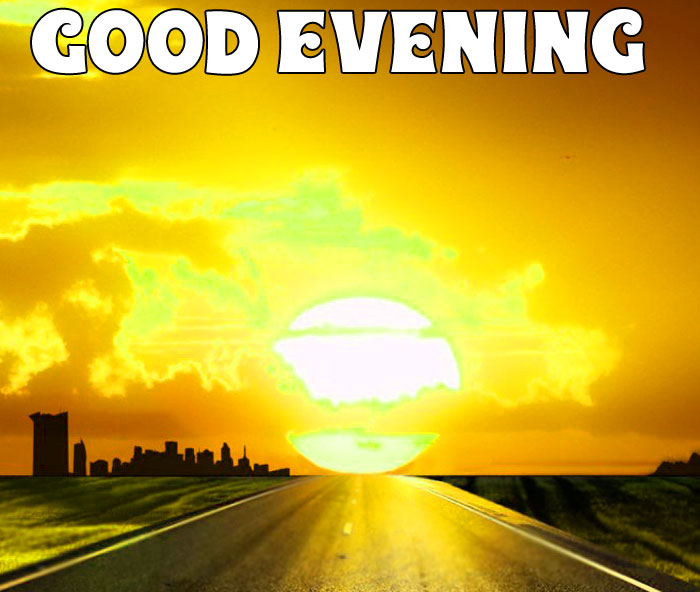 best sunset Good Evening picture free download