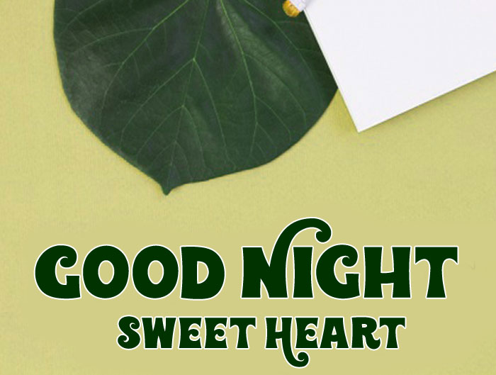 brushes Good Night Sweet Heart images hd