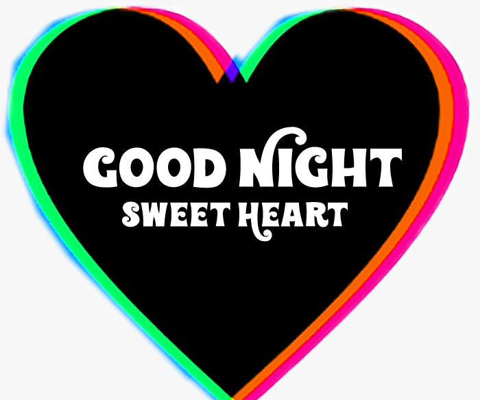 colorfull Good Night Sweet Heart images hd download