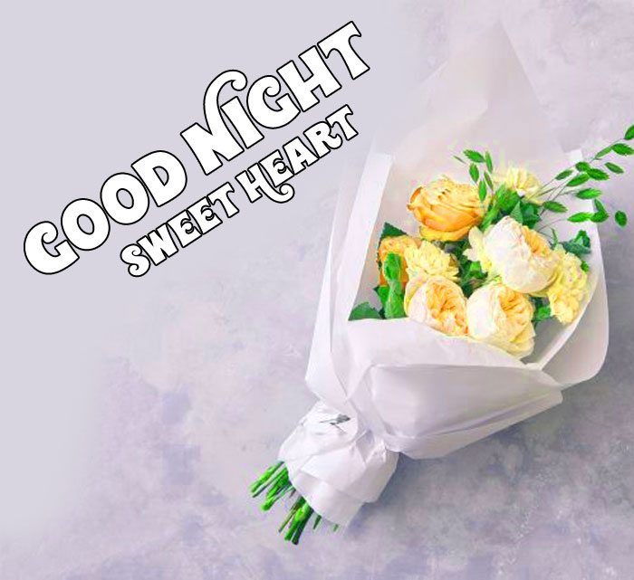 flower Good Night Sweet Heart images hd download
