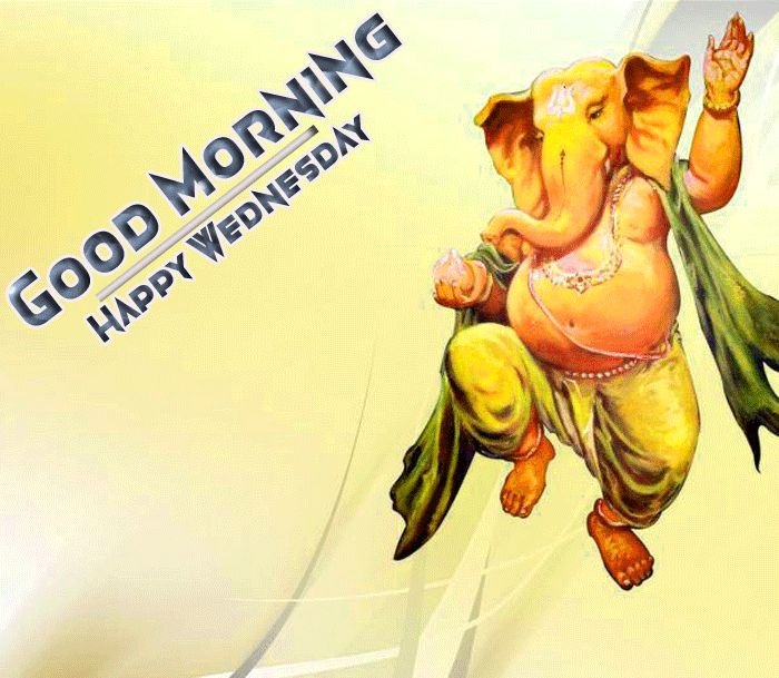 happy wednesday good morning ganesh photo