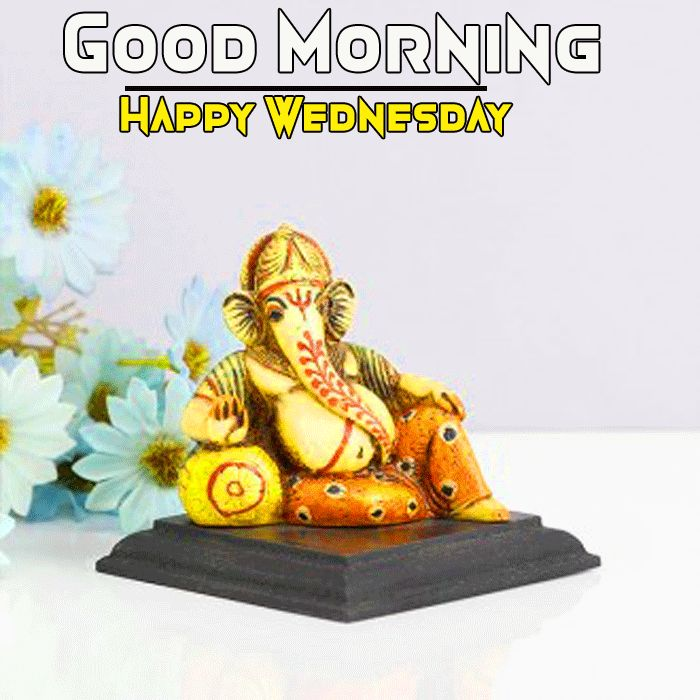 happy wednesday good morning ganpati bappa image
