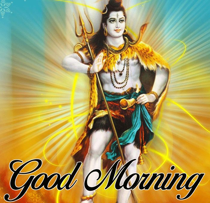 latest good morning lord shiva images for facebook hd