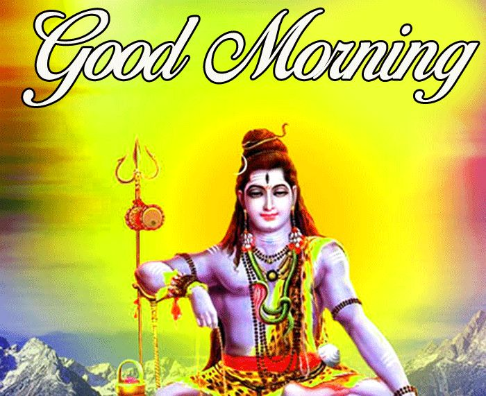 latest good morning lord shiva wishes hd download
