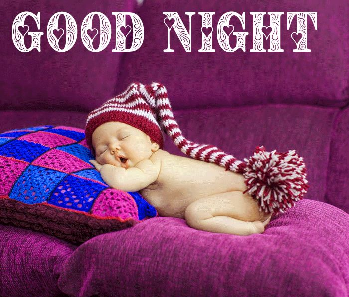 latest Good Night Baby Sleeping wallpaper hd
