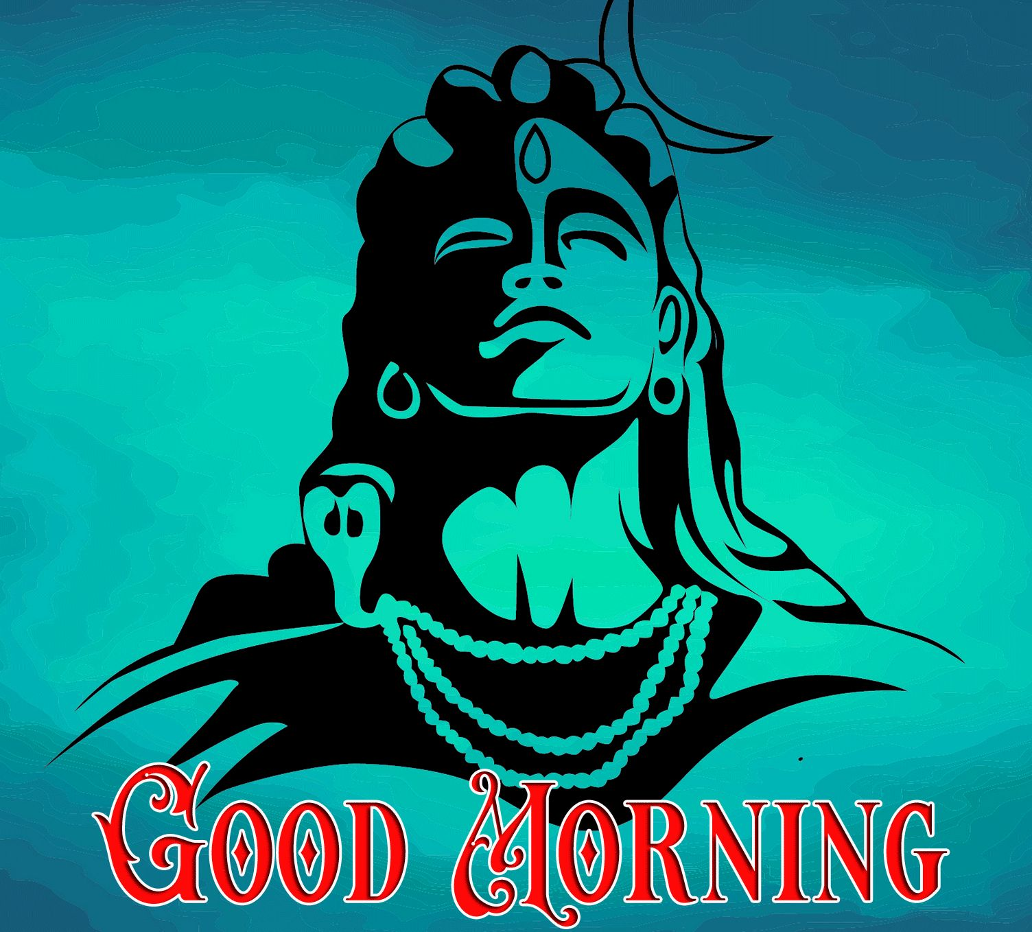 latest good morning lord shiva photo for facebook hd download