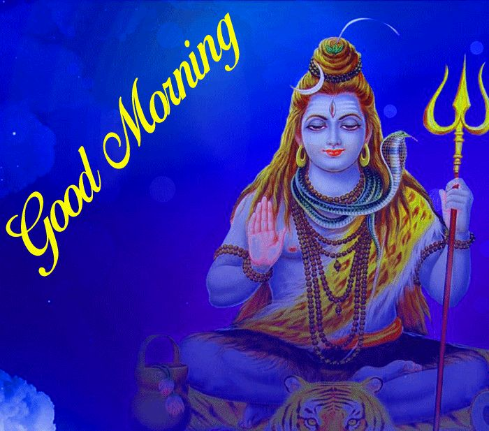 latest good morning lord shiva wallpaper for facebook hd