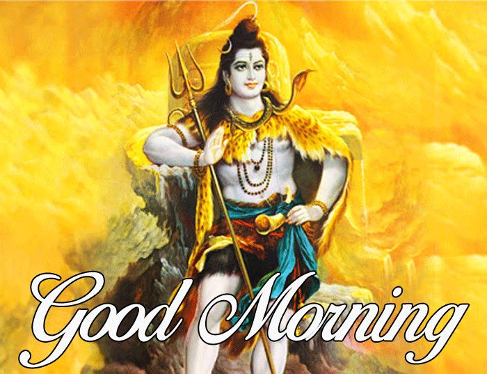 latest good morning lord shiva wishes pics free download