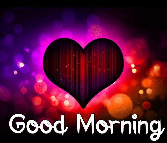 latest heart Good Morning hd kiss images