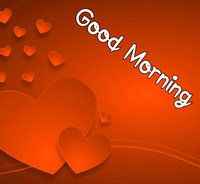 latest red heart Good Morning images hd