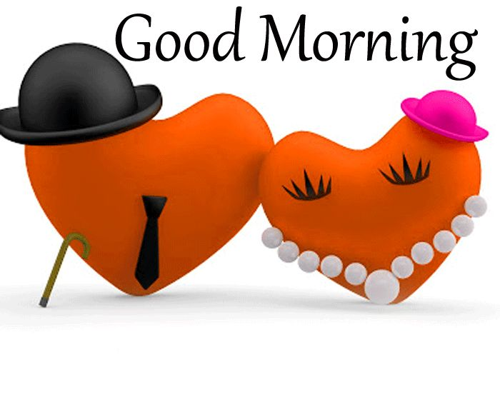 latest two heart love Good Morning images hd
