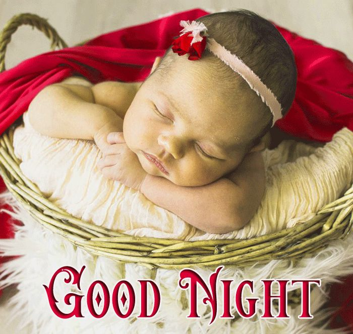 new Good Night Cute Baby Sleeping wallpaper hd download