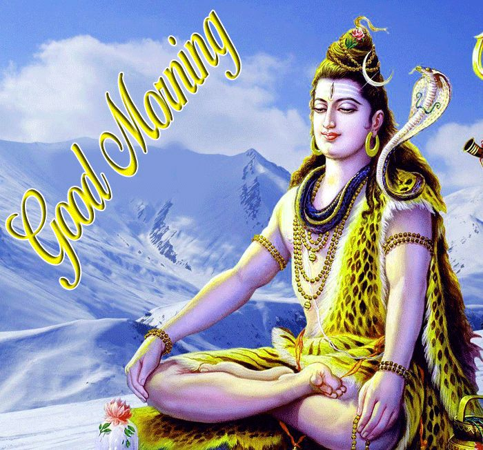 new good morning lord shiva wishes wallpaper hd download