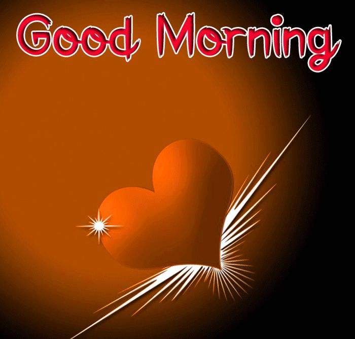 new red heart Good Morning images hd