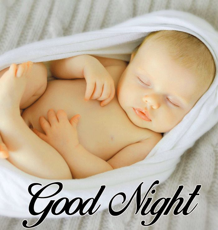 nice Cute Baby Good Night sleeping photo hd download