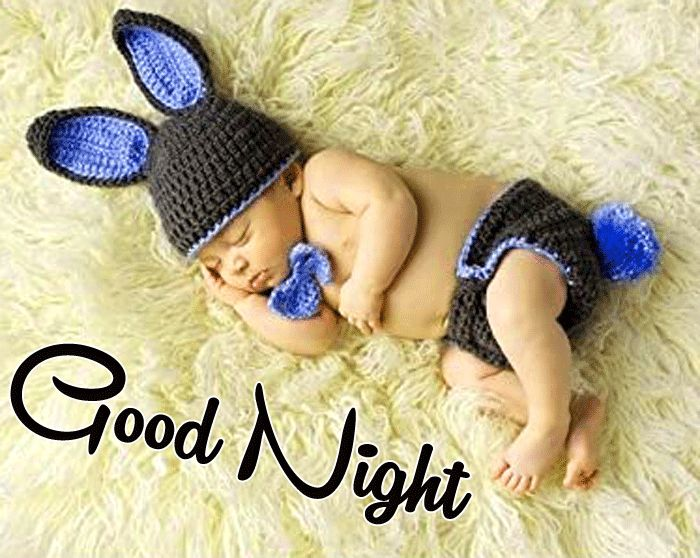 nice Good Night Cute Baby Sleeping picture hd free download