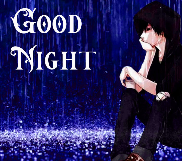 sad Good Night wallpaper free download