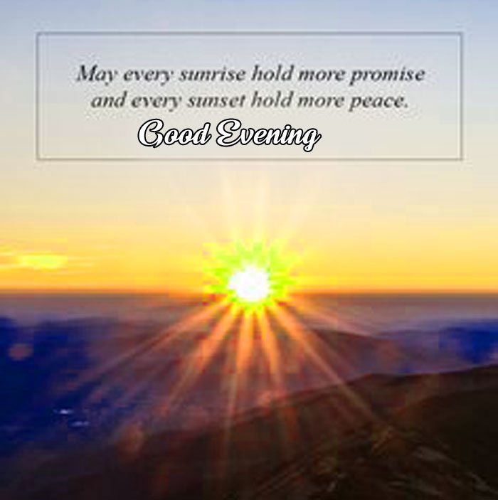 sunrise quotes good evening images hd