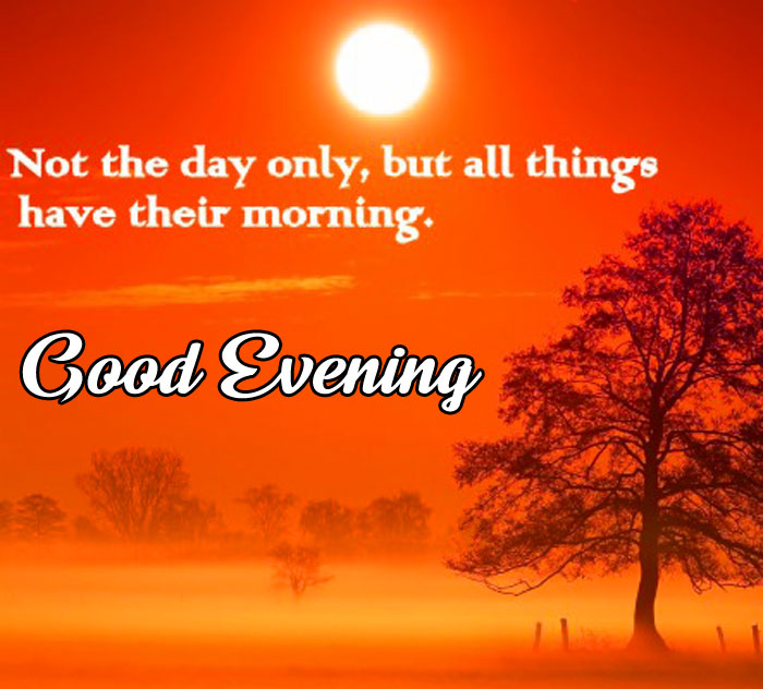 sunset Good Evening quotes hd