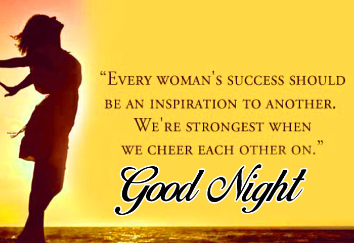 Good Night women images