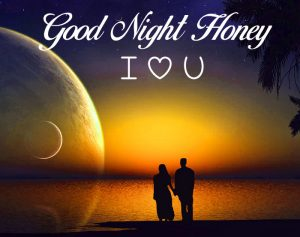 couple Good Night Honey I Love You images