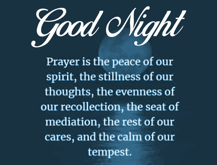 prayer quotes Good Night photo