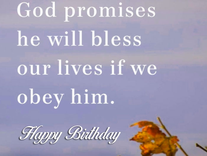 Happy Birthday Blessing flower images hd