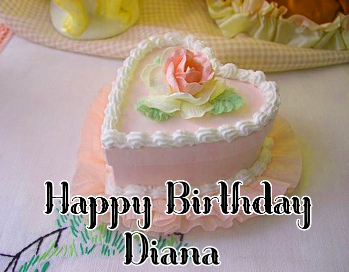 Happy Birthday diana cute love images