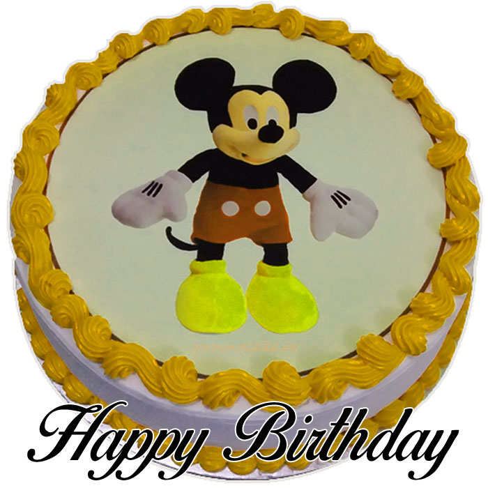 Mickey Mouse Cartoon cake y