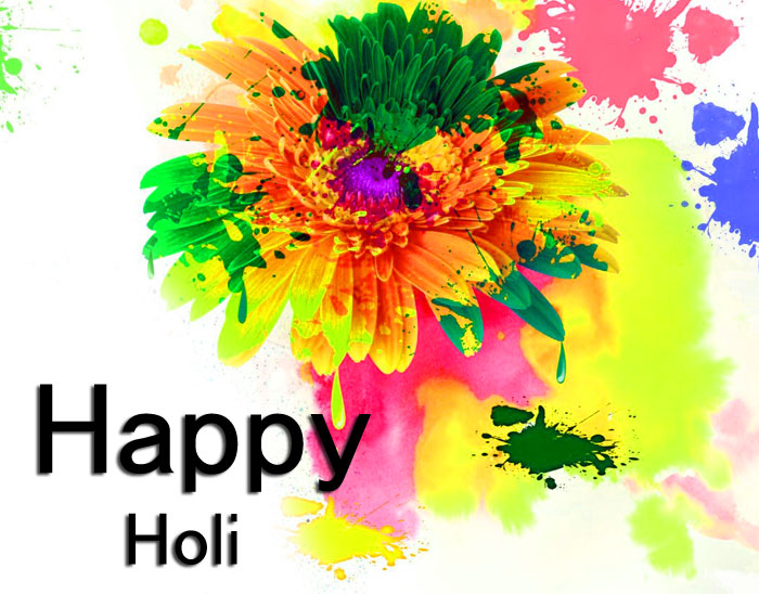 beautiful Happy Holi colorful images