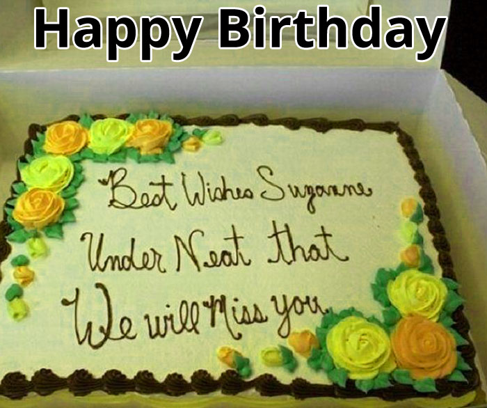 beautiful cake Happy Birthday Message images hd