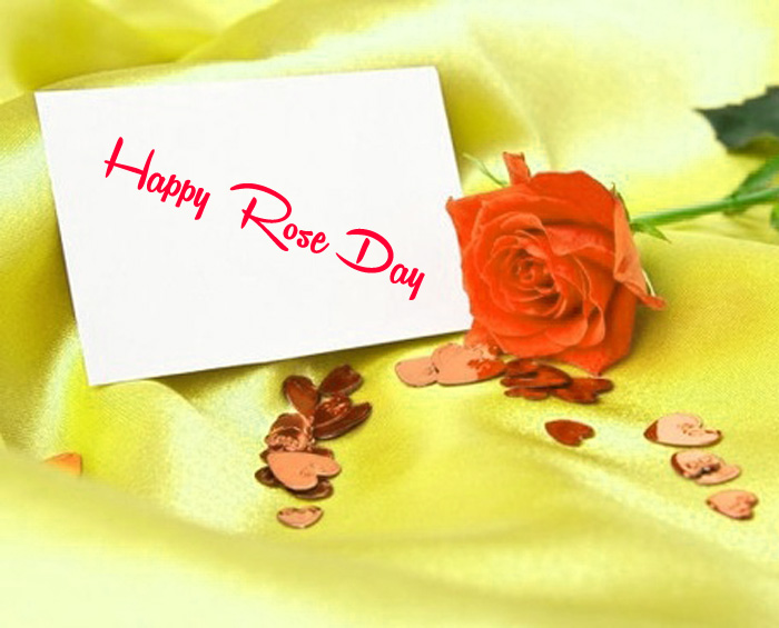 beautiful card flower Happy Rose Day hd