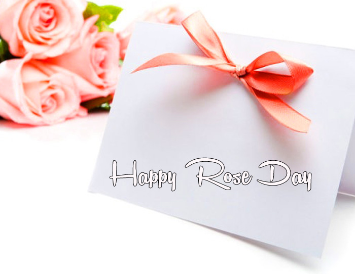 beautiful flower Happy Rose Day card images hd
