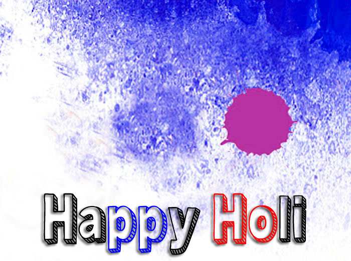 best blue color Happy Holi images hd