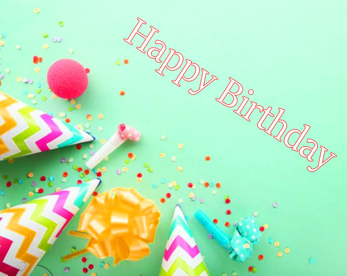 best colorful Happy Birthday balloon images