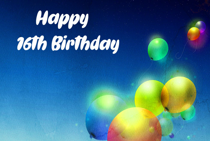 best colorful balloon Happy Th Birthday images