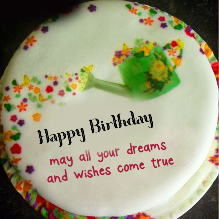best white Happy Birthday Message cake images
