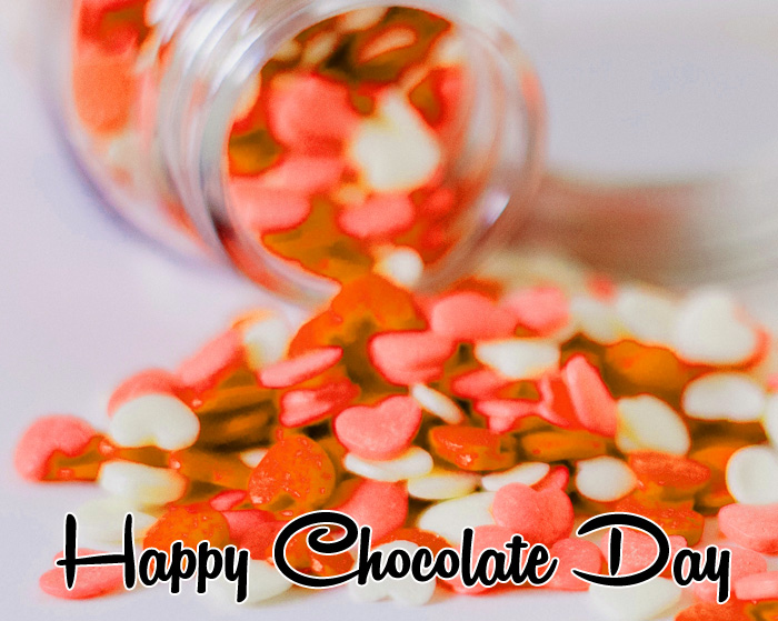 colorful Happy Chocolate Day images hd