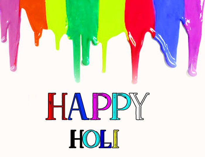 colorful Happy Holi images hd