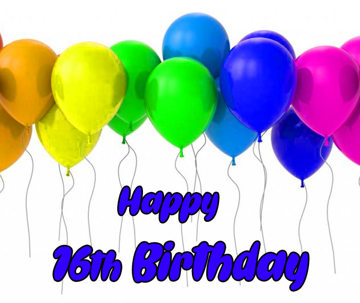 colorful balloon Happy Th Birthday imges hd